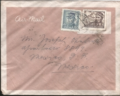 M) 1947 CZECHOSLOVAKIA, AIR MAIL, FRANCIS SMITH, APPOINTED THE KING OF THE AIR 9 KCS. - Czechoslovakia