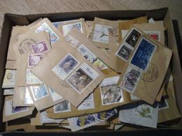 DEUTSCHLAND  ZUSCHLAGSMARKEN  105g  KURZGESCHNITTEN AUS GESCHÄFTSPOST - Lots & Kiloware (mixtures) - Max. 999 Stamps