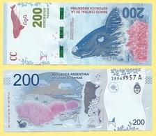 Argentina 200 Pesos P-364 2016 (Suffix A) UNC - Argentine