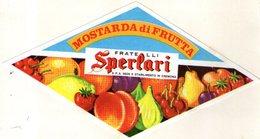 B 1893 - Etichetta, Sperlari Cremona - Fruits & Vegetables
