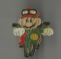 Pin's Mario à Moto - Games