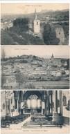 Lot De 3 Cartes  De GRANE  ( Recto Verso ) - Autres Communes