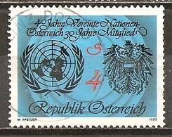 Autriche Austria 1985 ONU UNO Obl - 1981-90 Oblitérés