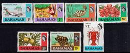 E0098 BAHAMAS 1976, SG 460a-472a Definitives, 1979 Chalk Surface Issue,  MNH - Bahamas (1973-...)
