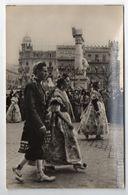 "Espagne--VALENCE --1957--Défilé ""fallero"" --(très Animée) --costumes - Valencia"