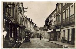Sainte Livrade: Rue Nationale, Voiture Années 50 - France