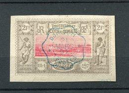!!! PRIX FIXE : COTE DES SOMALIS N°18 OBLITERATION SUPERBE - French Somali Coast (1894-1967)
