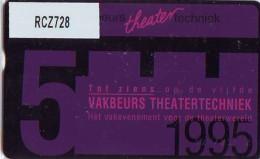 Telefoonkaart  LANDIS&GYR  NEDERLAND * RCZ.728  212c * Vakbeurs Theatertechniek * TK * ONGEBRUIKT * MINT - Nederland