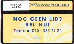 Telefoonkaart  LANDIS&GYR  NEDERLAND * RCZ.732  212b * Nederlandse Officieren Vereniging * TK * ONGEBRUIKT * MINT - Privé