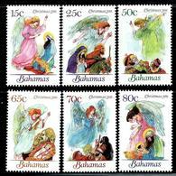 "Bahamas     ""Christmas 2011""    Set    SC# 1333-38    MNH - Bahamas (1973-...)"