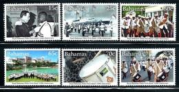 "Bahamas     ""Police Force Band""    Set    SC# 1387-92    MNH - Bahamas (1973-...)"