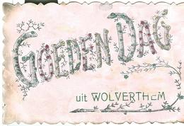 Wolvertem Goeden Dag Uit Wolverthem (verzonden Naar Mechelen ) - Meise