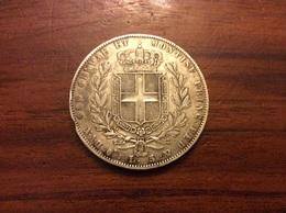 5 Lire 1842 Argent (TTB) - …-1861 : Before Reunification
