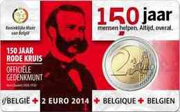 Belgium 2014 Red Cross UNC - Bélgica