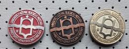 Dzemal Bijedic University Of Mostar 1977 Bosnia Ex Yugoslavia Pins - Administrations