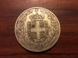5 Lire 1879 Argent (TTB) - …-1861 : Before Reunification