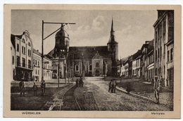 Allemagne--WUERSELEN  --1919--  Marktplatz  (très Animée) - Würselen