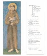 Prière Humble De Saint François D'Assise, Saint Francis, éd. AS 1 - Images Religieuses