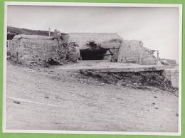 Rare Photographie De Presse Guerre 1939 1945 VIERVILLE Sur Mer Calvados Blockhaus  Allemand Armé - War, Military
