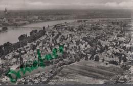Kehl A. Rhein, Mit Den Rheinbrücken, Luftbild Um 1960 - Kehl