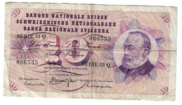 Switzerland 10 Francs 15/05/1968 - Switzerland