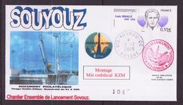 ESPACE - 2009/02 - Programme SOYOUZ – Montage Du Mât Ombilical KZM - CSG - 1 Document - Europa