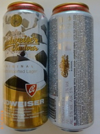 251 CZECH Rep. Pivo-bier-beer-cerveza Can BUDWEISER Lager FIFA Football Russia Limited Edition 5,0 % 0,5 L Empty 2018 - Cans