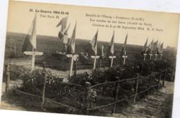 77 La Guerre 1914-15-16 - Bataille De L'Ourcq - ETREPILLY : Les Tombes De Nos Héros (Armée De Paris) - France