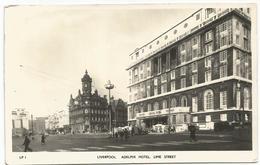 X2672 Liverpool - Adelphi Hotel - Lime Street - Auto Cars Voitures / Viaggiata 1958 - Liverpool