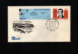 Falkland Islands / Islas Malvinas 1982 Interesting Letter - Briefe U. Dokumente