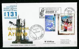 ESPACE - ARIANE Vol Du 2000/08 V131 - Conseil De L'Europe - 1 Document - Europe