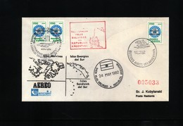 Falkland Islands / Islas Malvinas 1982 Interesting Letter - Falkland Islands