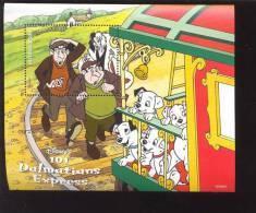 #  370-1  MINT NEVER HINGED SOUVENIR SHEET OF DISNEY ; DALMATIANS  (   GUYANA   3377 - Disney