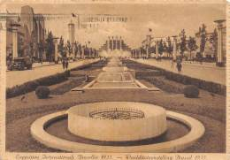 CPM - BRUXELLES - Exposition Internationale 1935 - Boulevard Du Centenaire - Weltausstellungen
