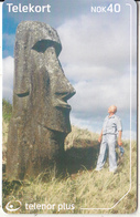 NORWAY(chip) - The Easter Island Expedition(253), Tirage 50000, 10/02, Used - Norway