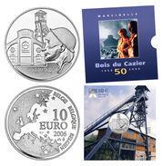 """BE23 BELGIQUE 10 EURO 2006 """"Bois Du Cazier""""  *QP* Quality Proof  - ARGENT - SILBER - SILVER - Belgique"""