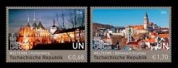 United Nations (Vienna) 2016 Mih. 925/26 UNESCO World Heritage In Czech Republic (I) (joint Issue UN-Czechia) MNH ** - Wien - Internationales Zentrum