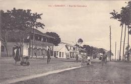 AFRIQUE,AFRICA,AFRIKA,guinée Française,CONAKRY,colonie ,cédée Par Les Anglais Aux Français En1891,rue Du Commerce,rare - Guinée Française
