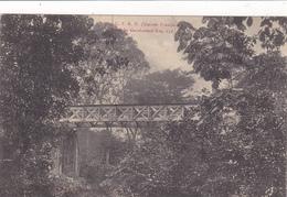 AFRIQUE,AFRICA,guinée Française,CONAKRY,colonie ,cédée Par Les Anglais Aux Français En1891,pont Garakaoudi ,brousse,rare - Guinée Française