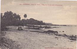 AFRIQUE,AFRICA,guinée Française,CONAKRY,colonie ,cédée Par Les Anglais Aux Français En1891,anse Timbo,station Radio Rare - Guinée Française