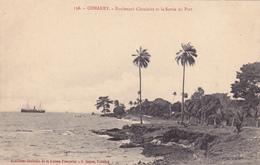 AFRIQUE,AFRICA,AFRIKA,guinée Française,CONAKRY,colonie ,cédée  Par Les Anglais Aux Français En1891,sortie Du Port,rare - Guinée Française
