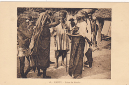 ASIE,ASIA,SRI LANKA EN 1900,CEYLON,ceylan,KANDY, Senkadagalapura,mahanunwa Ra,le Marché,marchand,métier,ra Re - Sri Lanka (Ceylon)