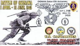 MARINES  BATTLE  OF  OKINAWA - Event Covers