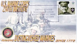 MARINES  CORPS.  230  BIRTHDAY - Event Covers