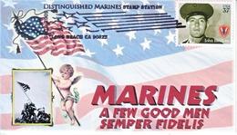 MARINES  RAISE  FLAG  AT  IWO  JIMA - Event Covers