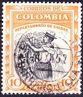 Kolumbien Colombia - Kaffee-Ernte (MiNr: 774) 1956 - Gest Used Obl - Colombie