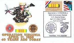 "MARINES  VIETNAM  WAR  "" OPERATION  VIRGINIA "" - Event Covers"