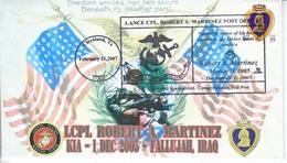 """MARINES  IRAQ  WAR  """" FALLUJAH """" - Event Covers"""