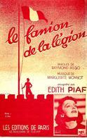 Le Fanion De La Légion. Edith Piaf - Partituren