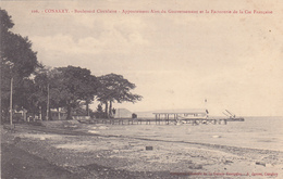 AFRIQUE,AFRICA,guinée Française,CONAKRY,colonie ,cédée Parles Anglais Aux Français En1891,boulevard Circulaire,factoreri - Guinée Française